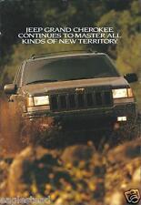 Truck Brochure - Jeep - Grand Cherokee - 1996/99 - 2 items  (T1159)
