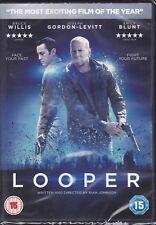 Looper (DVD, New & Sealed) Bruce Willis, Joseph Gordon-Levitt