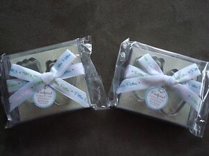 Kate Aspen Baby Feet Pitter Patter Cookie Cutters; Baby shower Favors; Guest Tha
