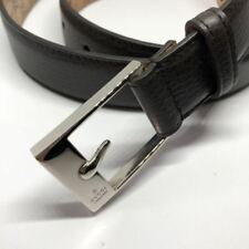 Brand new Gucci Men Brown Calf Leather Belt Size 85