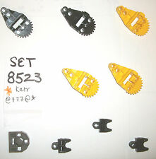 8523 Bionicle Yellow Gear 32166 32172 32174 4 LEGO SET c8521 8117 8927 8734 7699