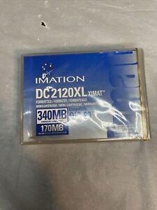 3M IMATION DC 2120XL XIMAT QIC-80 170MB / 340MB Mini Data Tape Cartridge D1
