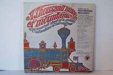 Raymond Massey - A Thousand Miles Of Mountains Vinyl LP Record Album KB 4368