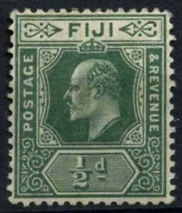 Fiji 1906-12 SG#118, 1/2d Green KEVII MH #D41098