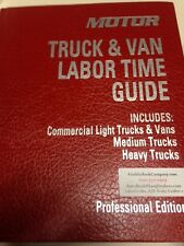 Motor Truck Labor Guide 14th Ed & Specification Guide - USPS Priority Shipping