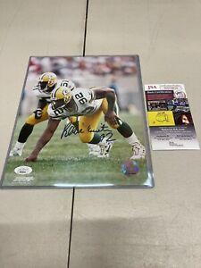 Reggie White Autographed Packers 8x10 Photo JSA