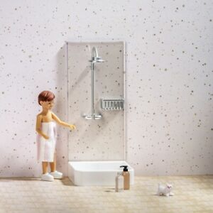 Lundby 18th Scale Shower Set for Dolls House (60-3062-00)