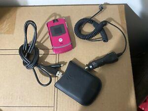 Motorola RAZR V3- PINK. (T-Mobile) Cellular Phone