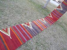 Hall Runner, Tribal Flat Woven Turkish Kilim Runner 2'2'' X 20'1'' Stair rug