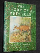 The Story of a Red Deer; J W Fortescue (1985) George Denholm Armour Illustrated