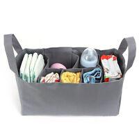 Large Mummy Handbag Organizer Baby Nappy Diaper Bottle Storage Inner Insert Bag