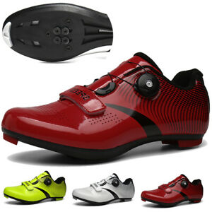 Ultralight Men Cycling Shoes Bike Pro Race Bicycle Sneakers SPD Cleats Peloton