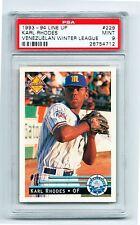1993  Venezuelan Baseball Card KARL RHODES  # 229 PSA 9 HIGH POP!