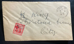 1915 Port Spain Trinidad & Tobago First Day cover Domestic Sc#B2 Red Cross