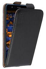 mumbi Leder Tasche für Huawei P10 Lite Hülle Schutzhülle Wallet Etui Case Cover