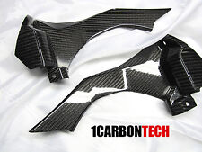 2015 2016 2017 2018 YAMAHA YZF R1M CARBON FIBER CONSOLE INTAKE COVERS
