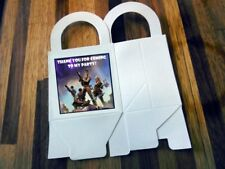12 FORTNITE loot boxes/bag birthday party favor treat, CUSTOMIZE IT! FORT NIGHT