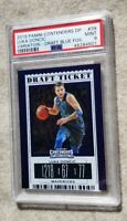 2019 Panini Contenders Variation Blue Foil #39 Luka Doncic RC Rookie PSA 9💎💎