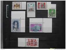 timbres Belgique : antituberculeux légendes belges 1957 **