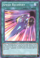 3 x Yu-Gi-Oh Card - HSRD-EN011 - SPEED RECOVERY (super rare holo) - NM/Mint
