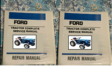 Ford New Holland 1100 1110 1200 1210 1300 1310 1500 1510 Tractor Service Wo