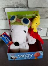 Coffret Duo Peluche Snoopy et les Peanuts Exclusif Gipsy