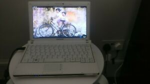 "Samsung NC10 10.1"" Laptop/Notebook 120GB SSD, Intel Atom 1.6GHz, Faulty Battery"