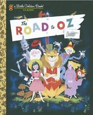The Road to Oz (Little Golden Book)-ExLibrary