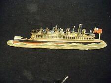 Victorian scrap # 9742 - DIE CUT - RIVER BOAT