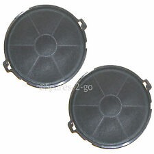 2 x Charcoal Cooker Hood Carbon Filter For BEKO CH60 IS30GR Filters 190 x 40 mm