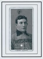 HONUS WAGNER actual game used BAT SHAVING SPECKS, pieces, Pittsburgh Pirates