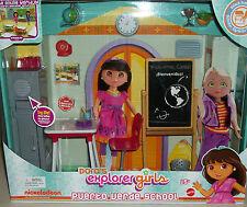 Dora The Explorer Puerto Verde School Nickelodeon doll play set Xmas Toys gift