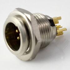 6Pin Female plug Mini TA3F XLR Audio Microphone connector Adapter Adaptor