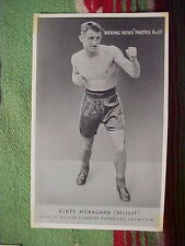 RINTY MONAGHAN BELFAST FLYWEIGHT CHAMPION  Boxing News Photo No 37