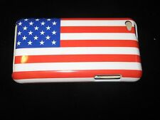 American Flag Hard Cover Case for iPod Touch 4th Gen New Flag Case