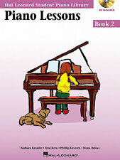 Hal Leonard Student Piano Library Adult Piano Method Book 2 Sheet Music Book NEW