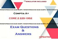 CompTIA A+ Core 2 220-1002 real Exam Q&A and simulator