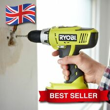 18 Volts Cordless Electric Combi Drill with 2 Batteries and 45 Minute Charger