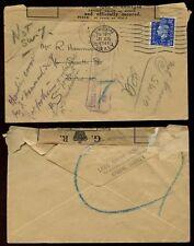 Medical Great Britain George VI Stamp Covers (1936-1952)