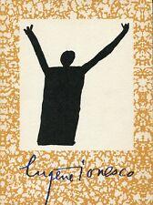 IONESCO - Eugene Ionesco. Les dessins de cette facon