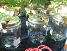 SET OF SIX  COMPLETE Fowlers Vacola  Preserving  #14 JAR STANDARD LID CLIP RING