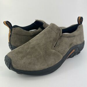 Merrell Jungle Moc Gunsmoke Slip On Suede Leather Shoes J63787W Men's Size 13