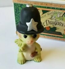 """""""It's the Law!"""" Whimsical World of Pocket Dragons by Real Musgrave with Box"""