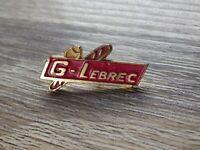 Pin's vintage épinglette pins publicitaire boulangerie G-LEBREC Lot G173