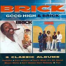 BRICK - GOOD HIGH / BRICK * USED - VERY GOOD CD