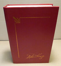 Stephen King Four Past Midnight Red Leather Cover Signature Library Collection