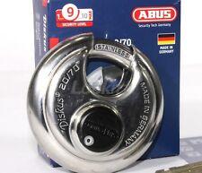 ABUS 20/70 Diskus Round padlock with Plus Cylinder - KEYED ALIKE
