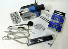 Jvc Gr-D72 MiniDv Digital Camcorder With Remote Cables Extra Tapes Charger More