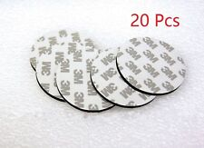 20 Pcs 3M  Double Sided Adhesive Mounting Tape 1.5mm X 60mm Round