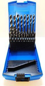 Presto 19Pc Hi-Nox Jobber Drill Bit Set 3-10mm X 0.5mm For Stainless Steel